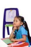 Peinture d'enfance Photos libres de droits