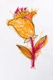 Peinture d'enfants photographie stock libre de droits