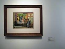 Peinture d'exposition d'Antonio Ruiz El Corcito El Verano Modern Mexique Avant-garde et révolution - Museo MALBA illustration libre de droits