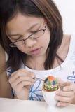 Peinture d'oeuf de pâques Image stock