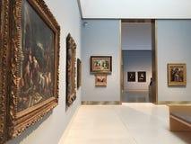 Peinture dans le musée des beaux-arts Houston photo libre de droits