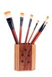 peinture de balai Photo stock