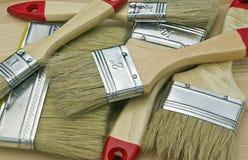 Peinture de balais. Photo stock