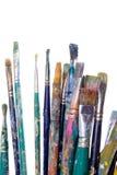peinture de balais Photographie stock libre de droits