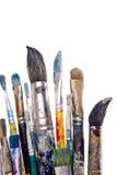 peinture de balais Image stock