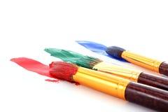 peinture de balais Image libre de droits