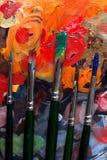 peinture de balais Images libres de droits