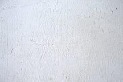 Peinture de blanc de conseil en bois Photographie stock