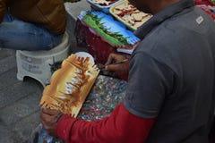 Peinture de bloc Photographie stock libre de droits
