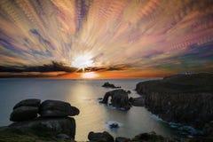 Peinture de ciel photographie stock