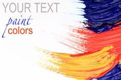 Peinture de couleur Photos libres de droits
