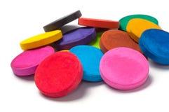 Peinture de couleur, aquarelle colorée Photos libres de droits