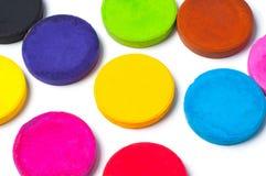 Peinture de couleur, aquarelle colorée Photo stock