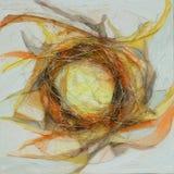 Peinture de couleurs à l'huile Images stock