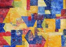 Peinture de couleurs à l'huile Photo stock