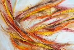Peinture de couleurs à l'huile Image stock