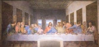 Peinture de dernier dîner images stock
