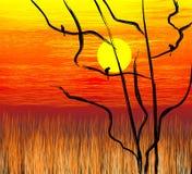 Peinture de Digitals Photo libre de droits