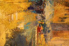 Peinture de fond coloré abstrait Image libre de droits