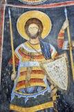 Peinture de fresque dans le monastère Manasija près de Despotovac, Serbie Image stock