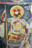 Peinture de fresque dans le monastère Manasija près de Despotovac, Serbie Images stock