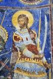 Peinture de fresque dans le monastère Manasija près de Despotovac, Serbie Photographie stock libre de droits