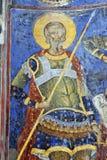 Peinture de fresque dans le monastère Manasija près de Despotovac, Serbie Photographie stock