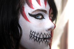 Peinture de Halloween Images libres de droits