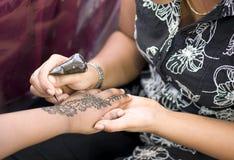 peinture de henné Photographie stock