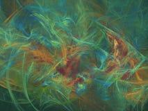 Peinture de l'eau Photo libre de droits