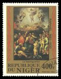 Peinture de la transfiguration Photos stock
