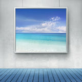 Peinture de Mediterranian Photos stock