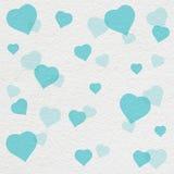 Peinture de modèle de coeur sur le mur blanc Photos libres de droits