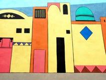 Peinture de mur Image libre de droits