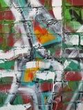 Peinture de mur abstraite Photo libre de droits