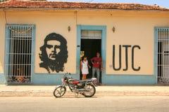 Peinture de mur de Che Guevara Photos stock