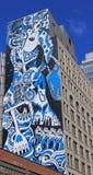 Peinture de mur de rue, New York Images libres de droits