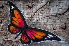 Peinture de papillon Images stock