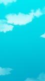 Peinture de paysage de nuage Photo libre de droits