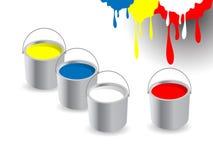 peinture de positions Photo libre de droits