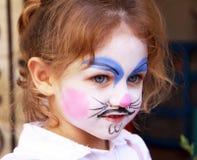 Peinture de visage Image stock