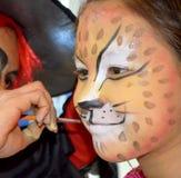 Peinture de visage Image libre de droits