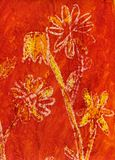Peinture des fleurs Image stock