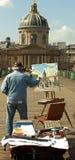 Peinture des longitudes de DES de bureau images stock
