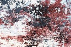Peinture en écailles sale Photographie stock