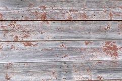 Peinture en bois et épluchée superficielle par les agents Photo stock