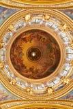 Peinture fantastique de St Isaacs de dôme de plafond Photographie stock libre de droits