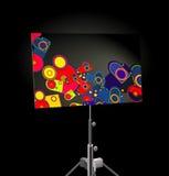 peinture géométrique Photos stock