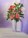 Peinture initiale Image libre de droits