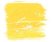 Peinture jaune de fond Photographie stock libre de droits